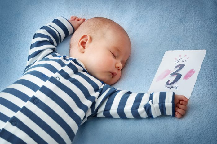 Carte Etape Bébé - J'ai 3 mois