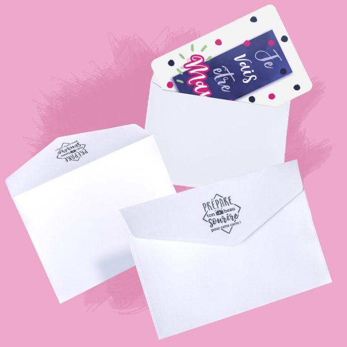Enveloppes Cartes Annonces
