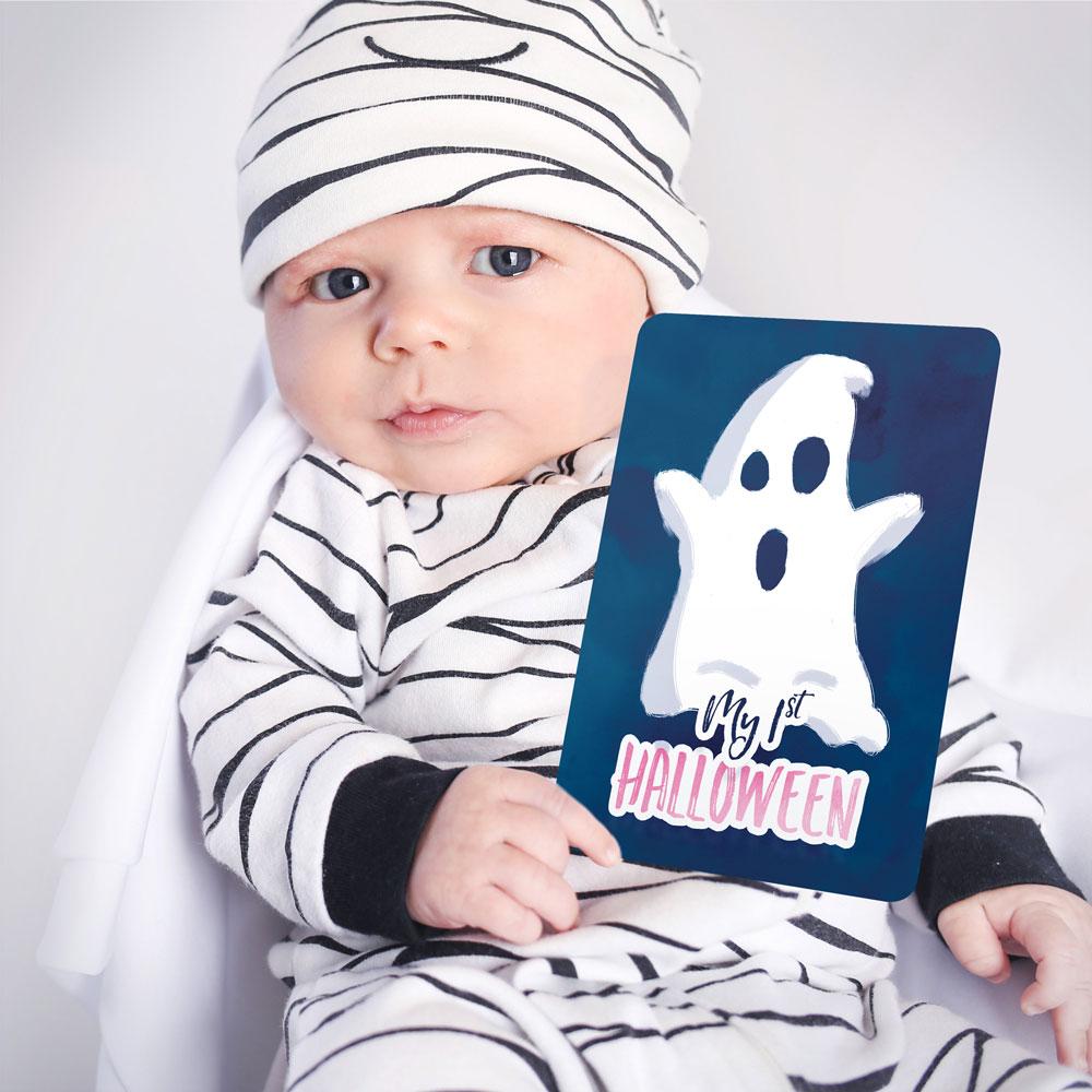 Halloween - Milestone Card