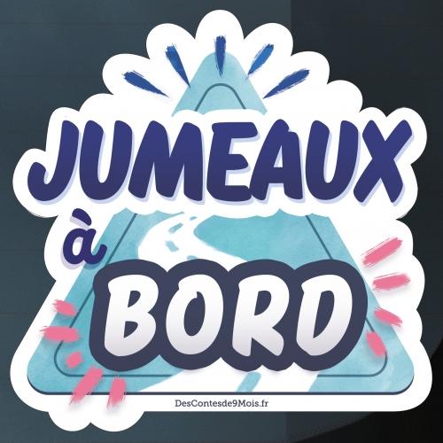 Sticker Bébé Jumeaux à Bord