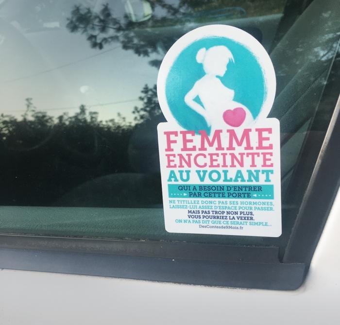 Photo Sticker Femme Enceinte